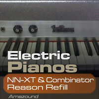 64 ELECTRIC PIANOS REASON REFILL for NNXT & COMBINATOR  890 SAMPLES - PC MAC