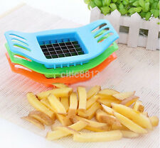 New Stainless Steel Vegetable Potato Slicer Chips Cutter Chopper Kitchen Tool au