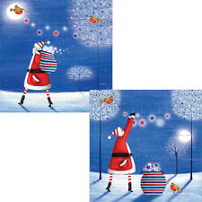 Help For Heroes Christmas Card Pack (Luxury) - Starry Washing (5 of Each Design)