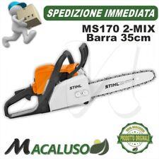Motosega Stihl MS170 2-mix motore a scoppio barra 35cm spranga professionale