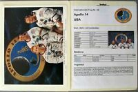 s1850) Raumfahrt Space Kosmos - Apollo 14 Sammlung mit Autogrammen Signature OU
