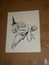 Eros BOFFY THE VAMPIRE LAYER #2 Meets SABRINA Original Cover Artwork Buffy ADULT