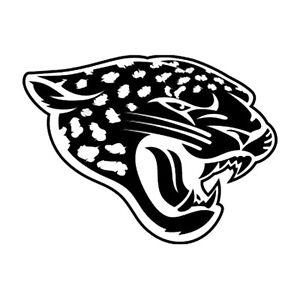 """Jacksonville Jaguars NFL Decal """"Sticker"""" for Car or Truck or Laptop"""