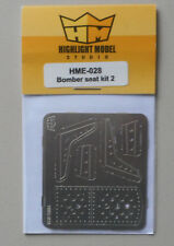 1/24-1/25 Bomber Seat Set 2 1:24 1:25 HIGHLIGHT MODEL CAR Part 28
