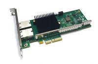 Silicom PE310G2I50E-T-NU Dual Port Server Adapter 10GbaseT PCIe x4 Intel X550-T2