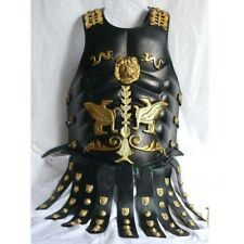 Beautiful Body Chest Breast Plate Leather Muscle Armor Medieval Costume SCA