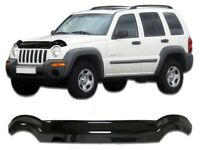 High Quality Bonnet Protector - Tinted Glass - for Jeep Cherokee KJ 2002-2007