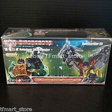 Transformers WST Reindeer Commander Green Grimlock + Bombardier Elf Red swoop