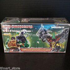 Transformers WST Reindeer Commander Green Grimlock + Bombardier Elf Red swoop