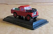 OXFORD DIECAST LAND ROVER SERIES II FIRE APPLIANCE 1:76 SCALE MODEL CAR VEHICLE