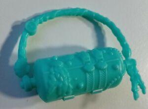Monster High Doll  green hand bag  LAGOONA BLUE  Dance Class  opening purse case