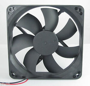 1pc Brushless DC Cooling Fan 140x140x25mm 140mm 14025 7 blades 5V 12V 24V 2pin