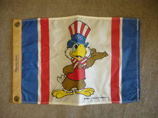 1980 Los Angeles Olympic Committee America 17.25″ x 11.5″ Flag