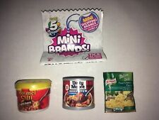 Zuru 5 Surprise Mini Brands Dinty Moore Beef Stew Horner Chil Knorr Four Cheese