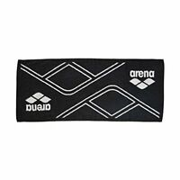 arena Japan Swim-Swimming Sports Towel 80 x 34 cm AEALGE11 Black