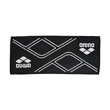 arena Japan Swim-Swimming Sports Towel 120 x 60 cm AEALGE11 Black