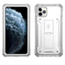 iPhone 11 Pro Max Case | Poetic Shockproof Cover With Built-In Kick-stand White