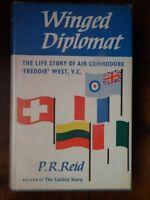 Winged Diplomat; Life Story of Air Commodore 'Freddie' West, VC - Reid