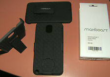 Holster Case for Galaxy Note 3 N9000, ALL BLACK with swiveling belt clip, new