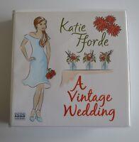A Vintage Wedding - by Katie Fforde - Unabridged Audiobook - 12CDS