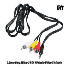 AV A/V TV Cable Cord Lead for JVC Everio GZ-MG132 GZ-MG131 GZ-MG130 U/S/AU/BU/S