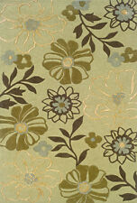 """4x6 Sphinx Handmade Beige Casual Floral 84123 Area Rug - Approx 3' 6"""" x 5' 6"""""""