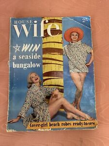 Vintage Housewife Magazine July 1959 Retro Classic Collectible