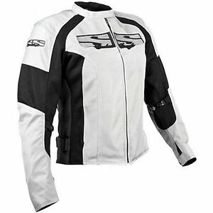 NOS SPEED AND STRENGTH 875880 RADAR LOVE MESH JACKET WHITE SIZE WOMENS XS