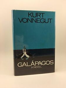 KURT VONNEGUT Galapagos 1st/1st HB/DJ