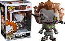 IT Pennywise With Wrought Iron Funko Pop Vinyl Figure *NEW* RARE (READY TO POST)