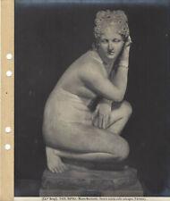 Brogi 5426. NAPOLI Museo Nazionale. Venere seduta sulle calcagna (Farnese)