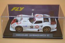 Fly Car Model A23 Marcos 600 Le Mans Brand Hatch 1997 - BNIB NEVER RUN