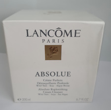 Absolue Lancome Replenishing Cream Cleanser 200ml Sealed