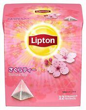 Lipton Sakura 12 Pyramid Tea bags x 1 From Japan