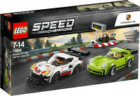 Lego Speed Champions 75888 Porsche 911 Rsr And Porsche Turbo New Boxed - Int
