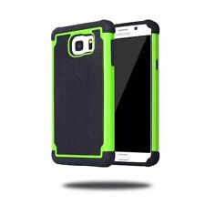 Hybrid Rugged Rubber Matte Green Hard Case TPU Phone Cover For Samsung Galaxy S4