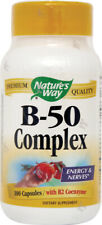 B-50 Complex, Nature's Way, 100 capsules