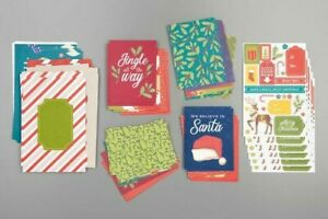 NEW Stampin' Up NIGHT BEFORE CHRISTMAS Memories & More CARD PACK Retired Kit