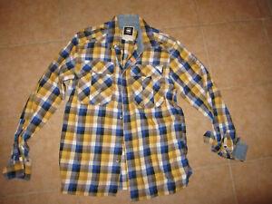 G STAR RAW Mens shirt  Sz -M-L  As NEW  100% authentic