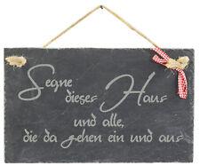Schiefer Schild Tafel Hängeschild Deko Dekoration Schieferplatte Slate Moin Meer