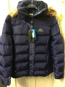 Mountain Horse Belvedere Royal Blue Padded Warm Jacket  M REDUCED