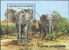 Benin Block39 kompl.ausg. Gesteine Postfrisch 1998 Mineralien