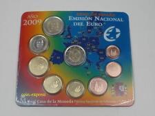 *** EURO KMS SPANIEN 2009 BU + 2 € Währungsunion EWU Spain Coin Set Espania ***