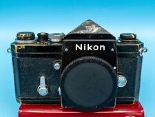 New ListingNikon F Vintage 35mm Slr camera body black 1969
