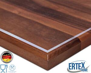 Tischdecke Tischfolie Schutzfolie Tischschutz Folie transparent 2.0 mm 1A Qual.