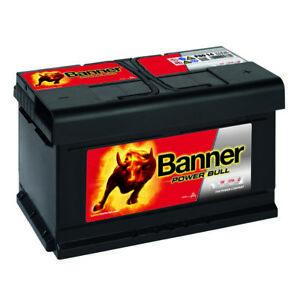 Banner POWER BULL 12V 80Ah P8014 Autobatterie Starter Batterie statt 85Ah