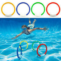 UNDERWATER SWIM POOL DIVE WEIGHTED PLAY STICKS RINGS STREAMERS WATER TOYS