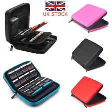 UK For Nintendo 2DS Travel EVA Hard Carrying Bag Case Cover Screen Protector New