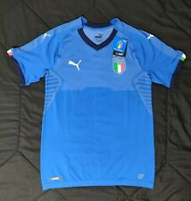 Puma Italy Men's Home Jersey Authentic Player Issue Shirt 752279-01 Size S