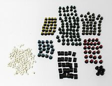 Button & Knobs - Huge Lot of 150+ Faders, Buttons, and Colored Knobs